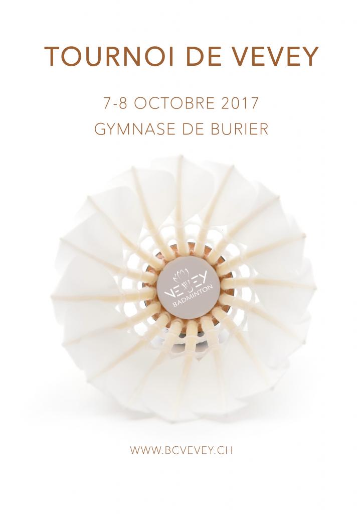 Tournoi de Vevey - Affiche 2017